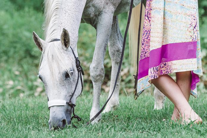 Portraits by Anna Smolens Purple Horse Design